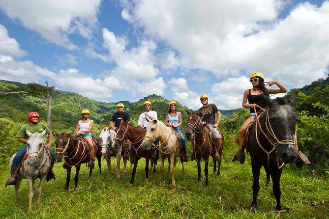 MÁS FOTOS, Horseback, Zipline and Rappel Combo Tour Jaco