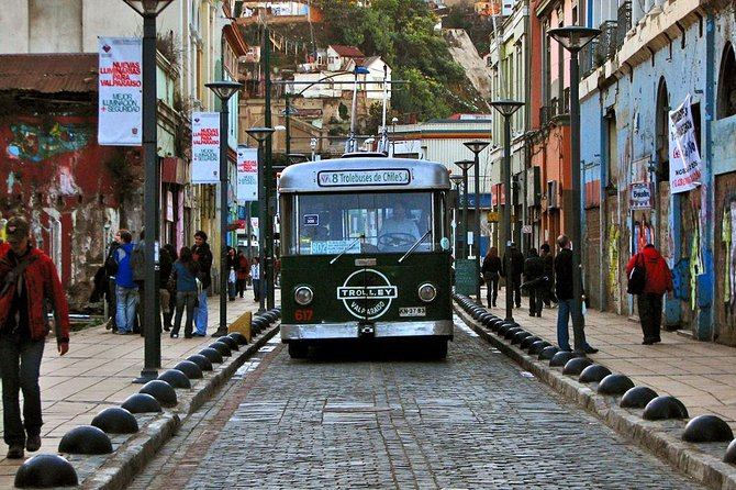 Enjoy a private full day tour with your guide getting to know two coast cities in the Chile's central region. First go to Valparaiso, a UNESCO World Heritage Site. Experience the cities important historical aspects and learn how it is one of the principal cities of economic activity of Chile. Next go to Viña del Mar with all its beauty with its streets full of different types of flowers and the different attractions. Also, take a trip to the Casablanca Valley which houses the principal wineries of the region and where you will have your wine tasting.