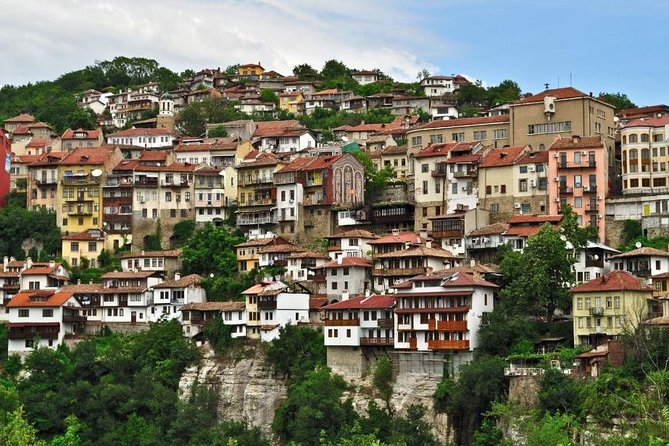 Discover the beautiful Northern Bulgaria on our 12-hour private tour from Bucharest. Thispart of land is full of historical treasures, breath-taking scenery and filled with the hospitality of its inhabitants. We shall visit Veliko Tarnovo - the capital of Bulgaria during medieval times, Tsaravets Fortress, Arbanasi Village, Basarabov Monastery and Ivanovo Rock Churches, a unique UNESCO World Heritage Site.