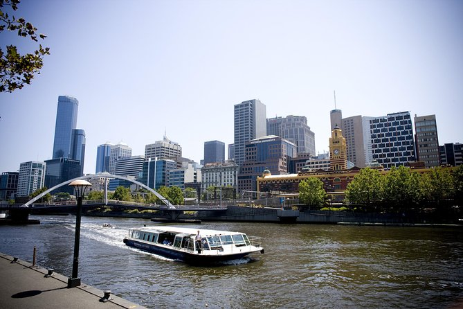 Cruise the Yarra River and admire Melbourne's spectacular skyline on a two hour narrated city cruise. Your cruise includes both the down and up river routes, encompassing the scenic river gardens and Herring island with the contrasting port and former-industrial Docklands area; giving you an extensive appreciation of the entire Melbourne region.