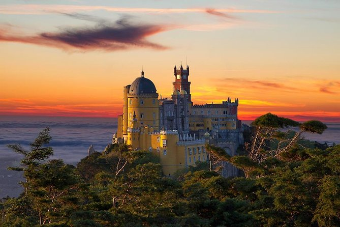 Let the fairytale begin on this Sintra full-day tour. Stroll through Sintra's storybook medieval streets. Visit the Village of Sintra, Sintra National Palace, and Pena Palace and gardens. Take in the panoramic view over Sintra National Park and the Atlantic Ocean. Visit Quinta da Regaleira, famous for its Masonic architecture, well, caves, and exotic gardens. Travel to Roca Cape, the westernmost point of continental Europe. Embrace the AtlanticCoast,stop into Cascais, once the seat of the European aristocracy.