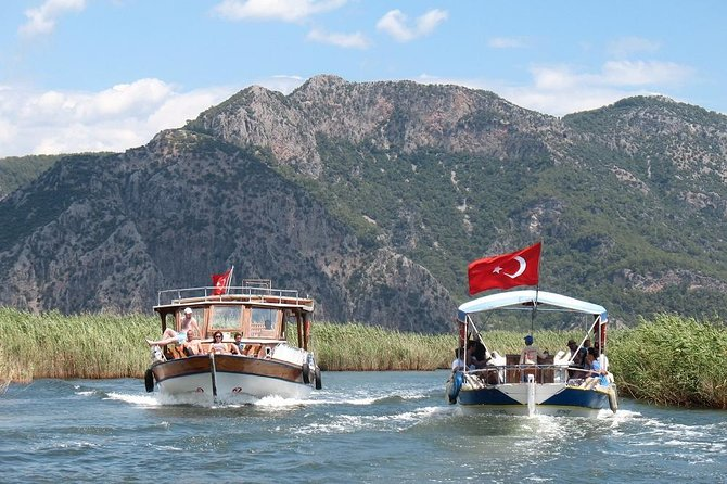 Dalyan River Cruise by Boat with Lunch and Sea Turtles Watching, Fethiye, TURQUIA