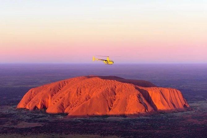 Uluru & Kata Tjuta Grand View Helicopter Flight, Ayers Rock, AUSTRALIA