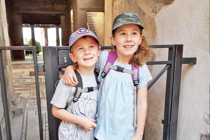 Pompeii Tour for Children with Skip-the-line Tickets & Kid-friendly Guide, Pompeya, ITALIA