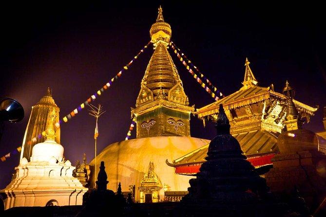Visita privada de medio día a la plaza Durbar de Katmandú y el templo de Swayambhunath, Katmandu, NEPAL