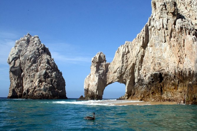 Discover all that Los Cabos has to offer on this 6-hour guided combo tour. See the famous El Arco and marine wildlife during the optional glass bottom boat ride and stop at a glass blowing factory in Cabo San Lucas. Then drive along the scenic Tourist Corridor to the charming town of San Jose del Cabo where you will spend time walking and shopping in its historical center. Taste tequila and Mexican candy. Numbers are limited to 8 people on this small-group tour (due to Covid-19 regulations), ensuring personalized attention.
