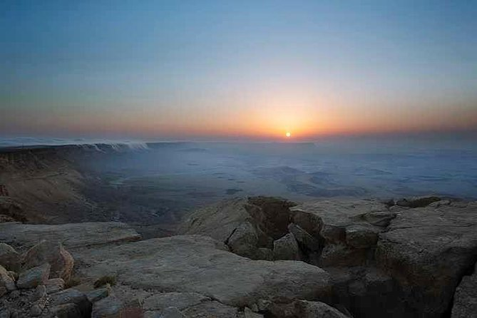 Explore the Negev Desert with this private 6-hour tour from Beersheba, Sde Boker, or Mitzpe Ramon. Learn about the landscape, geography, history, communities, and culture as you travel with your private guide. Choose to see the places you are interested in seeing, or you can add on activities like a 2.5-hour bike ride or 4x4 Jeep ride. Pickup and drop-off is included on this tour.