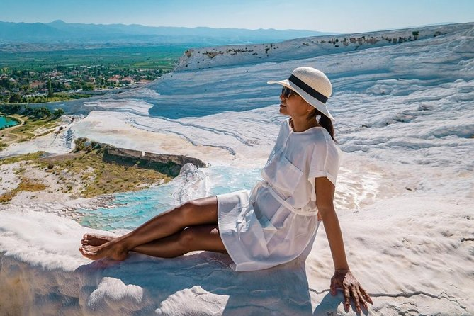 Pamukkale and Hierapolis, Izmir, Turkey