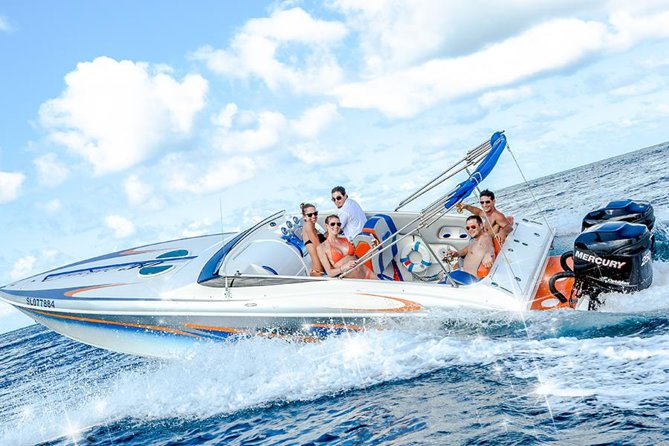 Charter our 30ft Concept powerboat Miss Erin, and cruise down the west coast of St. Lucia to the scenic and majestic Pitons in Soufriere. Swim, snorkel or visit the sights, in the most flexible way possible.<br><br>Snacks and beverages will be served on board, and lunch can be arranged if you so desire<br><br>Tour includes:Snacks, water, soft drinks, beer, rum punch and wine (lunch optional).