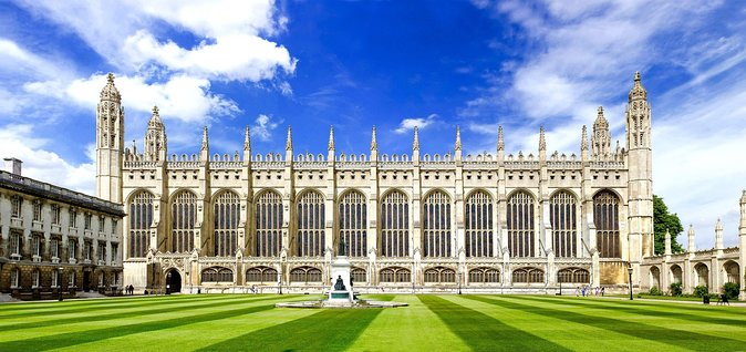 We are accredited Green Badge guides who have been successfully guiding in Cambridge since 2011. Thanks to our wonderful clients, we have for many years been the top-ranked Cambridge walking tour on Trip Advisor. We will take you on a journey through 2,000 years of history, and try to have some fun along the way. <br><br>This is a private tour for you and your companions only. Due to Government restrictions on public gatherings, the maximum group size is 5. <br><br>