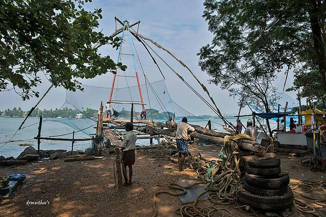 Walking Tour in kochi with a local guide. Experience the highlights of Fortkochi and Mattancherry with a local Expert born in same city who speaks good English. You will get the benefit of a local who explains about the history of the local attractions in a local way. During this tour along with the historic monuments, you will also experience the real life of the local people which is the main attraction of the tour. In Fort Kochi You will visit traditional Chinese fishing nets , St Francis church,Santa cruz Basilica church etc. After you will be transferred in Tuk Tuk(Auto Rickshaw) towards Dhobhi (local Laundry)and then through local streets visiting Old Hindu Temple and towards Mattancherry to visit historic Jew street where the Jewish community still exists after walks towards Dutch Palace, where the Cochin Royal family were living, now a museum under the Archeology. Later towards the Traditional Bazar market visiting Spice warehouses, Womens Co-operatives etc in the town.