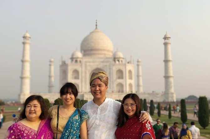 Enjoy a private day-trip to Agra from Delhi and experience the beauty of the Mughal Empire of India. You can see famous ancient architecture such as the Taj Mahal and the Agra Fort, a 16th-century Mughal monument. Your own private guide will make sure you have a great experience of these UNESCO World Heritage structures.<br>We follow the Proper SOP for Covid-19 during the tour. Like Proper Sanitization of Vehicle on a periodic basis. Temperature Measure Gun with Sanitizers, mask and gloves in the vehicle. Your Chauffeur will also follow the SOP during the whole Tour.