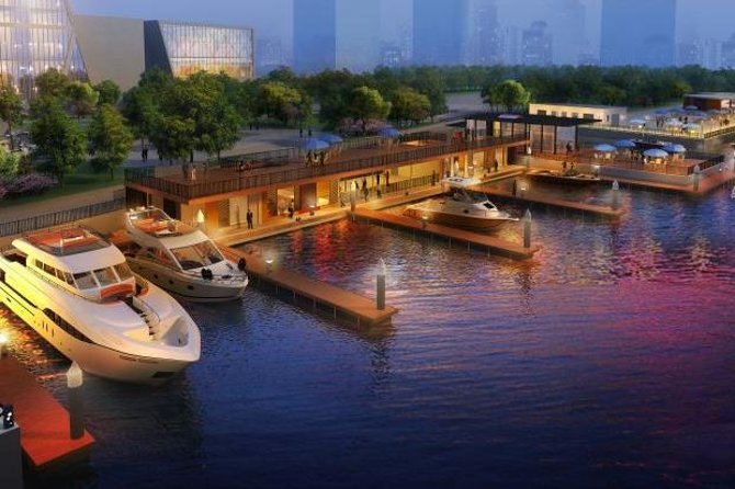 This 60-minute romantic private yacht experience takes you to see the amazing Shanghai city landmarks along the famous Shanghai Bund,such as Shanghai Tower, Shanghai World Financial Center, Jin Mao Tower, Oriental Pearl Tower, Peace Hotel and etc.. Enjoy the breeze and and listen the interesting history learning and latest city changes update from your knowledgeable private guide or you can choose to enjoy the good time with you own party without guide service.