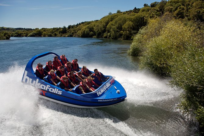 Take this action-packed challenge in Taupo that will have you experiencing the best of the North Island's great outdoors from the water! Brace yourself for a jet-boat ride on the Waikato River to the spectacular Huka Falls combined with whitewater rafting on the Tongariro River. With all equipment provided and knowledgeable guides included, you'll discover why New Zealand is the world's adventure capital.