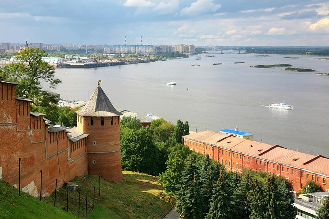 During the excursion, you will get introduced with one of the old cities of Russia, tour along the landmarks of the Nizhny Novgorod. You will observe over 800 years of the history of the city: from the day of foundation until the Soviet period. You will appreciate the marvelous panorama of Strelka - the place where Oka joins with the Volga and learn the medieval fortress - the Nizhny Novgorod Kremlin. The duration of the tour is 4 hours.