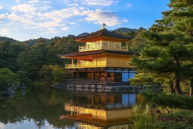 This tour will take you to see the famous 1000 vermilion gates at Fushimi Inari Grand Shrine, Arashiyama, UNESCO world heritage site Kinkaku-ji temple and Todaiji & Nara park. Enjoy an easy and relaxing bus ride, see famous sites in 2 cities in 1 day without the hassle of changing trains and getting lost.<br><br>The best time to see the Autumn colors in Arashiyama starts from Nov 20th.