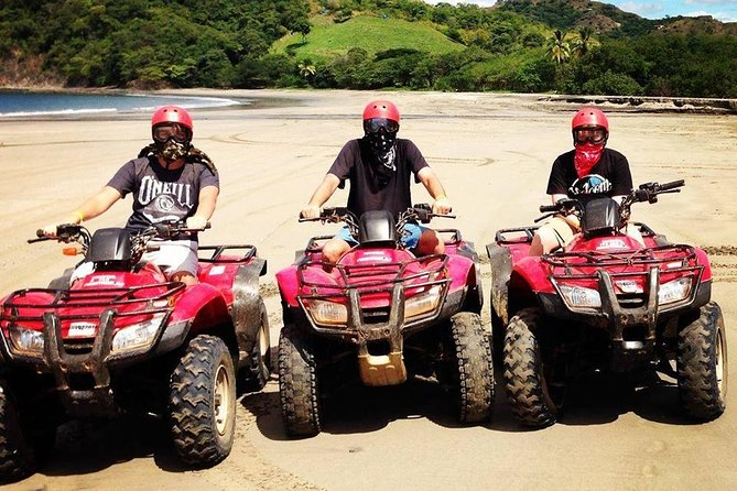 Enjoy an exciting 2-hour Bubbles ATV Or UTV Side by Side tour as your guide takes you on an exciting trip across the dry forest/dirt road & visit some beaches with a wonderful lookout point in the mountains of Tamarindo-Flamingo area. <br><br>This Family oriented Tour is one of our most popular tours.The Tour then continues in to the Beaches: Your tour includes transport. <br><br>IF you staying and JW Marriott Guanacaste for been pick you need to select JW Marriott Guanacaste ATV Mountain & Beach Tour 2 hr/ Jw Marriott Gte Atv ZIP LINE 4hr OTHERWISE you must to come to our departure point<br><br>