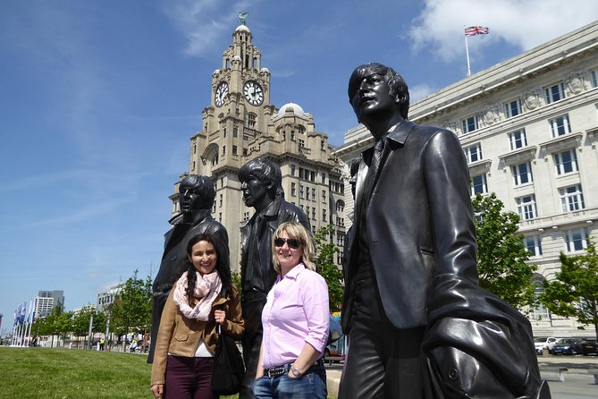 Now in its 7th year this safe socially distanced guided tour is totally outside in small group numbers & is the best Beatles experience in Liverpool. Your local tour guide who is a Beatles expert will lead you from the waterfront Beatles Statues through the World Heritage Site, avoiding all the busiest places. There is much more to Liverpool than just the Beatles and you will see the waterfront, historic docks, superb architecturel & understand the legacy left by 'the Fab Four' and how the city has changed since their golden years in the 60's. You will see many locations not accessible on a coach including the site of Brian Epstein's record shop called NEM's, Eleanor Rigby & the new Cilla Black statues & see outside the famous Cavern Club. The tour finishes close the Liverpool Lime Street Station in the World Heritage Site.