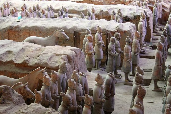 MORE PHOTOS, Private Tour: Terracotta Warriors and Han Yang Ling Mausoleum from Xi'an