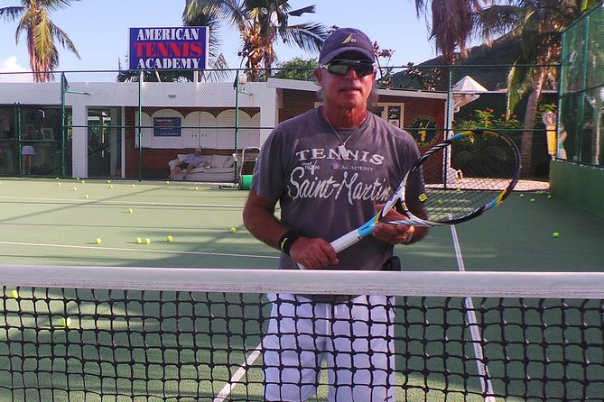 Improve your tennis game with tennis lessons from Oliver at the American Tennis Academy in St. Martin! Private lessons, clinics and video analysis are available for all ages and all skill levels. Oliver has more than 25 years of teaching experience from novice to Pro level. He is passionate about teaching and passing on the tennis message! Tennis instruction from Oliver is sure to add value, precision and profound technique to your game.
