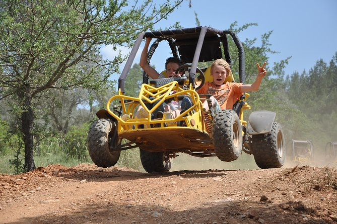 Jumpa quad or buggy and driveon your own through the fields,muddy terrains and mountains under the eye of qualified instructor
