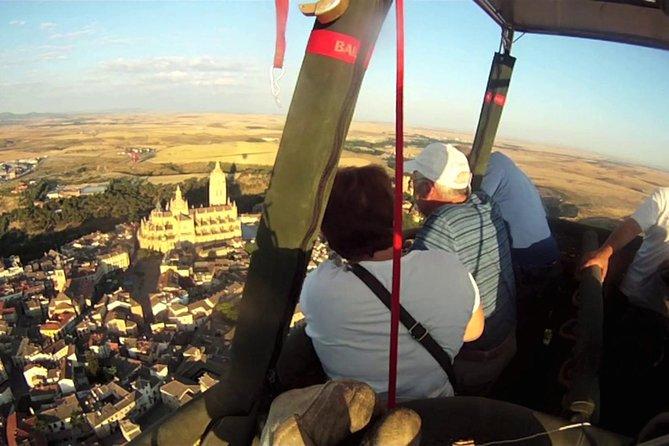 Vuelo en globo sobre Segovia, Segovia, ESPAÑA