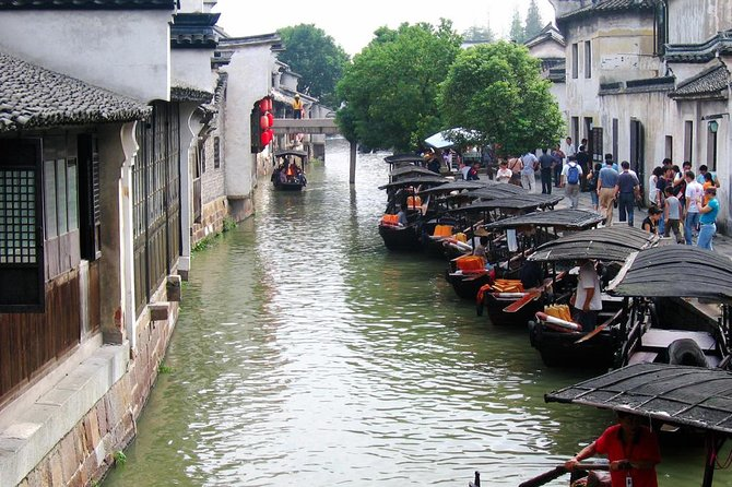 Enjoy short get away from Shanghai city to beautiful Zhujiajiao Water Town where you can explore the classic Chinese buildings and to take a relax boat ride along the water canals. This half-day private tour can be started either in the morning or afternoon, and all entrance fee, private guide and transfer service are inclusive. You also can upgrade your tour with lunch or dinner to experience the local cuisine upon booking.