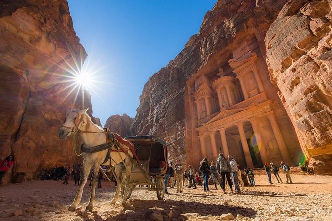 Our Target : Discover the beauty of one of seven wonders over the world ' Petra ' <br><br>Our Slogan : Discover the Beauty of Jordan <br>