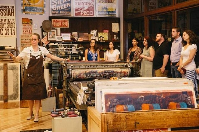 Hatch Show Print Studio Tour & Country Music Hall of Fame Combo, Nashville, TE, ESTADOS UNIDOS