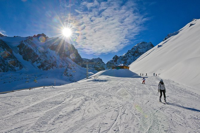 Don't miss the chance to ski at Shymbulak Ski Resort, which is considered to be the one of the best ski bases in CIS! <br><br>Located in the picturesque valley of the Ile-Alatau mountains at an altitude of 2510 meters above sea level, the resort is famous for its mild climate, large quantity of sunny days, steady snow and the magnificent surrounding views. The season at Shymbulak usually runs from November to April, snow provided. The resort maintains a variety of routes, including the gentle and soft slopes for beginners and long runs for advanced skiers, FIS-slopes for downhill skiing, wild valley, pristine snow and the Half-pipe for snowboarders, extreme bends for the pros, a special track for mogul. Each year the newroutes appear at Shymbulak. Ski slopes of Shymbulak are certified by International Ski Federation (FIS). Shymbulak downhill and giant slalom tracks are listed among the top ten toughest trails in the world.