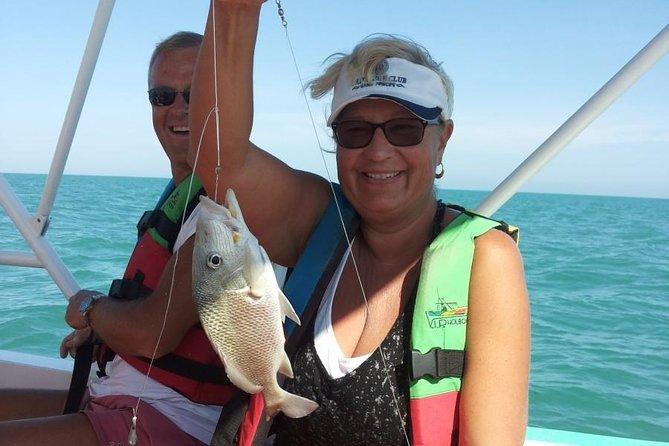 Excursión de pesca privada desde Isla Holbox, Isla Holbox, MEXICO