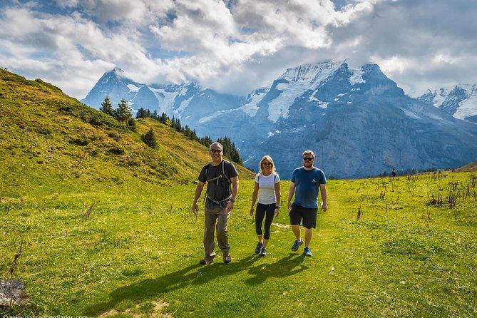 Lauterbrunnen Waterfalls & Mountain Trail Private Hiking Tour from Interlaken, Interlaken, SUIZA