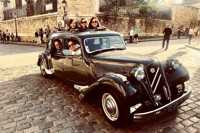 Paris Private Tour in Classic French Citroën, Paris, FRANCE