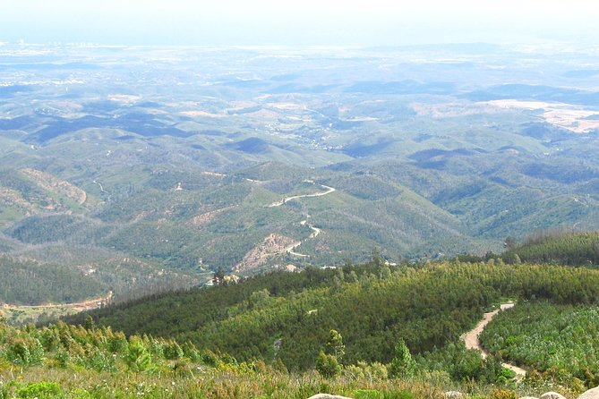 On this 6-hour tour you will visit two local wineries and enjoy a wine tasting at each, then ascend to the highest peak in the Algarve region of southern Portugal. Feast on a lunchof the best Portuguese cuisine specialties in a mountaintop restaurant with a panoramic view over Algarve.