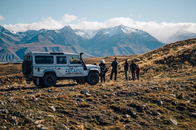 MORE PHOTOS, Scenic 4WD Tour Lake Tekapo Backcountry