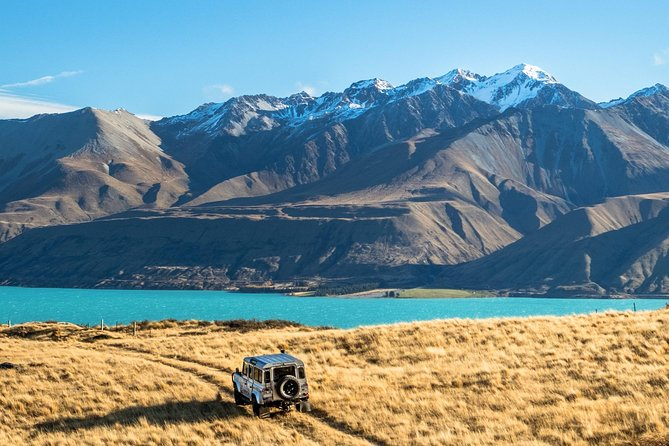 Scenic 4WD Tour Lake Tekapo Backcountry, Canterbury, New Zealand