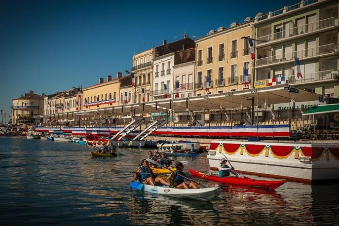 Discover the small Venice of the South of France in an original way! This accessible trip allows you to discover Sète on sea-kayaks.