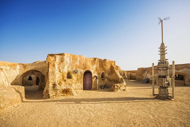 This Star Wars Tour will take you to visit unforgettable Star Wars film locations throughout Tunisia. This includes taking a hike in 'Star Wars Canyon, walking through the streets of Mos Espa, plus more!