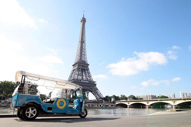 Private Paris City Tour in an Electric Tuktuk, Paris, FRANCE