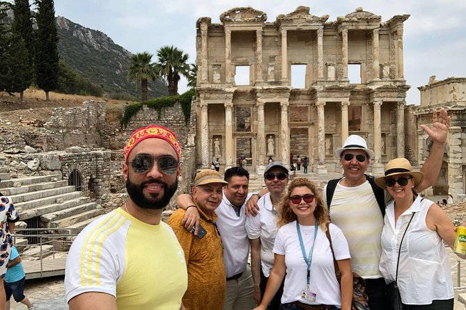 This is a Private Tour only for you. Enjoy your private guided tour that combined ancient Roman and Greek history in the Ancient City of Ephesus, House of the Virgin Mary and Temple of Artemis. Walk on the streets that Apostle Paul and John walked, see the Grand Theatre of Ephesus that St. Paul preached to Ephesians, take great pictures in front of Celsus Library, Temple of Hadrian, Public Toilets, Marble Street, etc. Feel the very peaceful atmosphere of House of the Virgin Mary, visit the Temple of Artemis. It is a private tour, so you can spend your time in the sites as much as you wish and ask your questions to your private guide who will be with your entire day. <br><br>As a family-based & educated (5 years of University education for Tourism Industry and 15 years of Experience in Tourism Industry) licensed Travel Agency we do our job with love and we try to do our best to represent our Country. <br><br>We offer you;<br>• 100 % Satisfaction<br>• Exploring Local Life not the Touristic Designed Travel