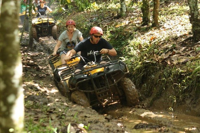 Try out Bali's challenging track to get your adrenaline pumping!<br><br>Discover the nature of Bali through the longest ATV Quad bike track<br><br>Explore the natural landscape dotted with rice fields, jungles, rivers and local villages<br><br>Be guided through the track by an experienced and professional guide<br><br>Challenge yourself by traversing slopes, steep inclines and bumpy terrain