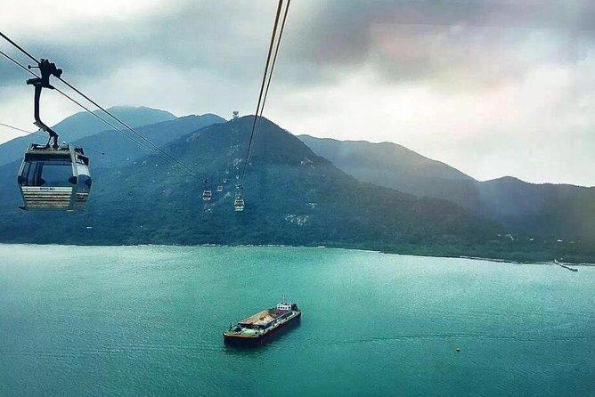 Recorrido de un día en autobús: visita a la isla de Lantau y al Buda gigante, recorrido en teleférico más paseo en barco por Tai O, Hong Kong, CHINA
