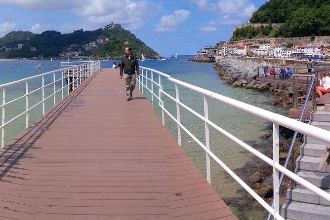 Recorrido en bicicleta por San Sebastián, San Sebastian, ESPAÑA
