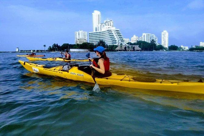 Excursión en kayak en Punta Arena, Cartagena de Indias, COLOMBIA