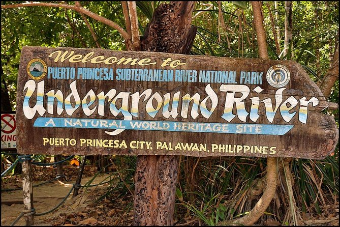 Enjoy the Puerto Princesa Subterranean River National Park, and paddle down the Puerto Princesa Underground River on this 8-hour tour. This underground river is one of the longest underground rivers in the world. Board a boat at the mouth of the cave at Sabang Wharf, and stop at the Buenavista viewpoint for views of the Ulugan Bay. You can also choose to upgrade to include a group or private trip to a ziplining experience at Ugong Rock Adventure Zipline and Spelunking or other activities offered.