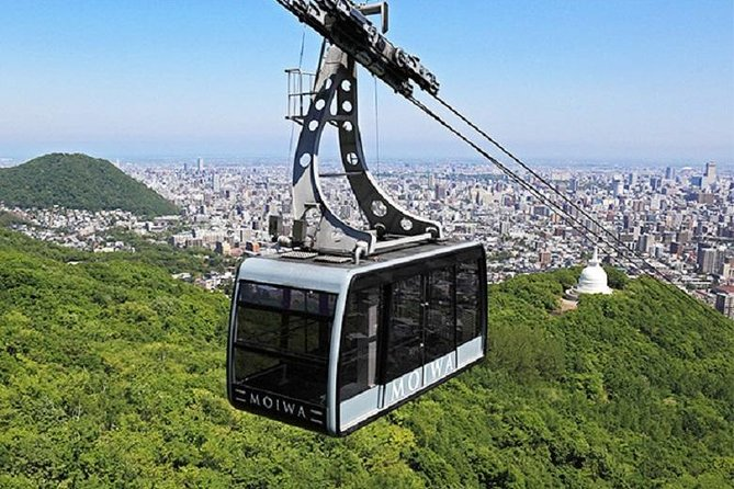 Get a panoramic view of the city of Sapporo. This ropeway brings you near 1,200 meters within 5 minutes.