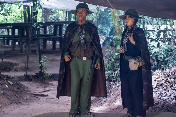 Full-Day Private Cu Chi Tunnels and Ho Chi Minh City Tour From Phu My with Lunch, Ho Chi Minh, VIETNAM