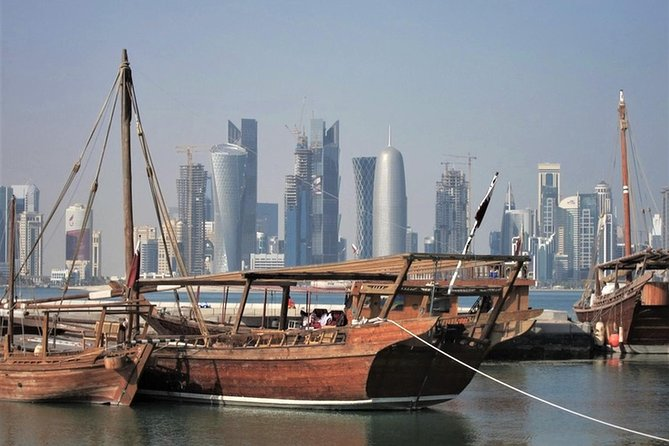 4 hrs guided tour will take you to visit the best attraction places, Doha corniche, dhow boat harbour, Katara culture village, the pearl, Souq waqif the local market and the museum of Islamic art.