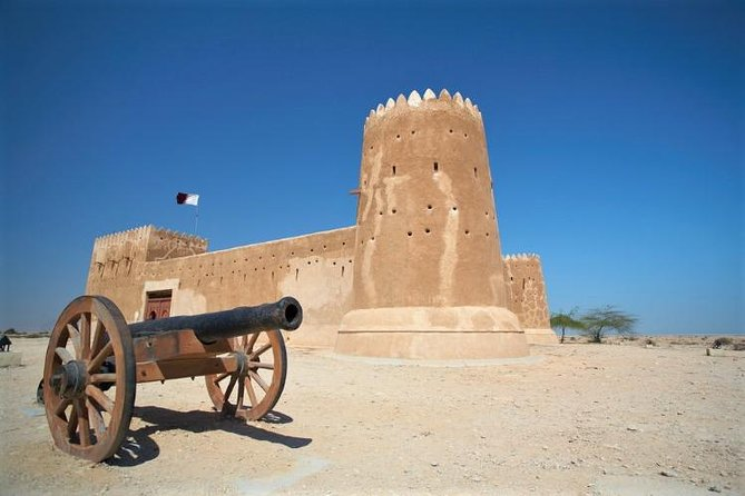 Discover the heritage side of Qatar, visit al khor and al Thakhira cities, the mangrove forest and the old dhow port and then visit Al Zubarah Fort, or AZ Zubara Fort, is a historic Qatari military.