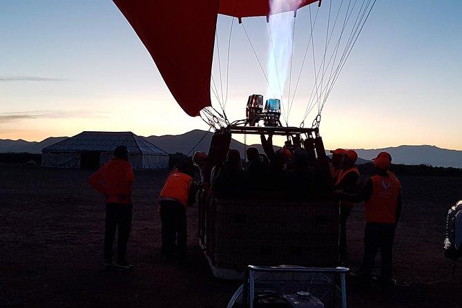 Hot Air Balloon Flight over Marrakech with Traditional Breakfast, Marrakech, Morocco City, Morocco